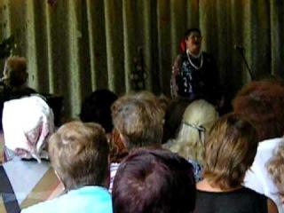 Вечер - встреча с Валентиной Кабаевой 30.07.2011 г.