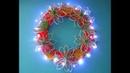 DIY: simple Christmas wreath / einfacher Weihnachtskranz