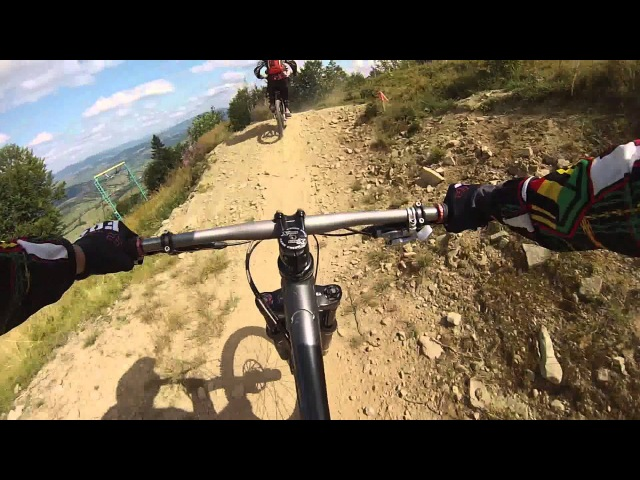 Wild west downhill - Карпаты, Пилипец Super Mario 2013 P1