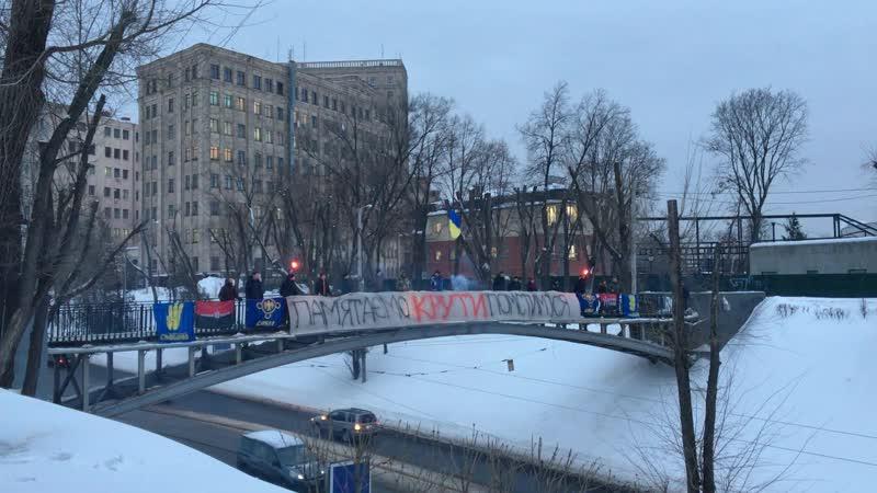 Молодь Харківщини пригадала роковини Крут.