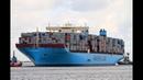 Невероятных размеров контейнеровоз Maersk Mc–Kinney Moller