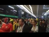 Болельщики Коста-Рики идут на стадион