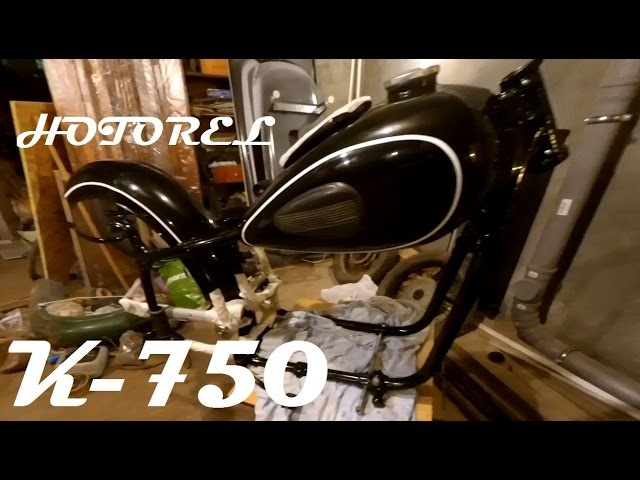 Урал GS-650 Поиск запчастей и реставрация К-750!