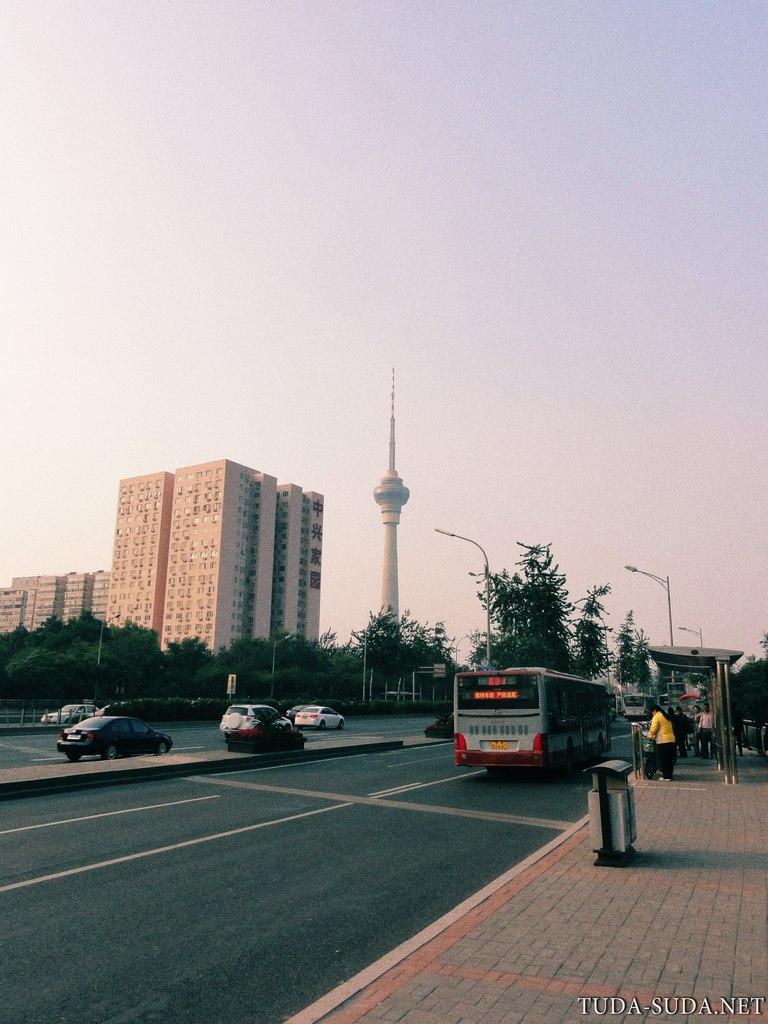 Телебашня Пекин фото