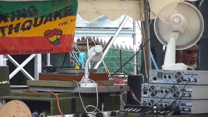 Iration Steppas meets KING EARTHQUAKE 2013 Garance Reggae Festival F