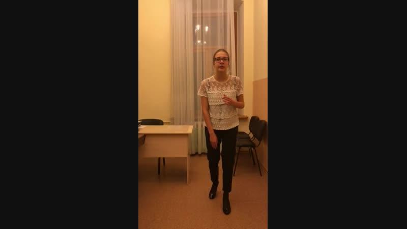 """Денисова Полина - Ария Agnus Dei из кантаты """"Gloria"""" (А. Вивальди)"""