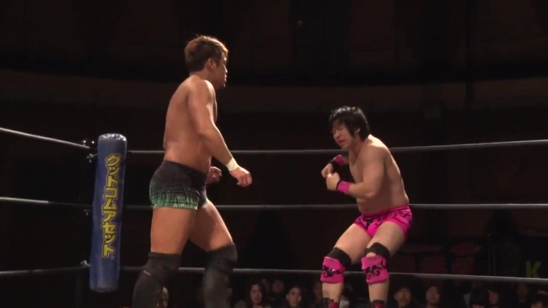 Keisuke Ishii vs. Kouki Iwasaki (DDT - Taisho Dramatic Romantic 2018)