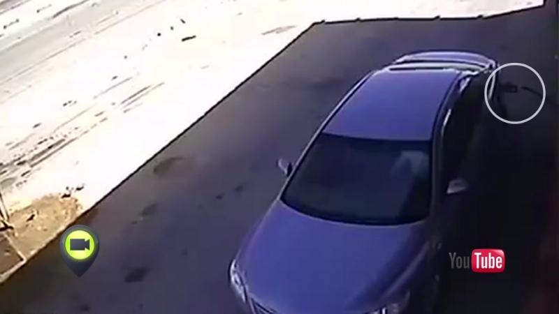 Автомобилист заговорился по телефону и нечаянно взорвал заправку