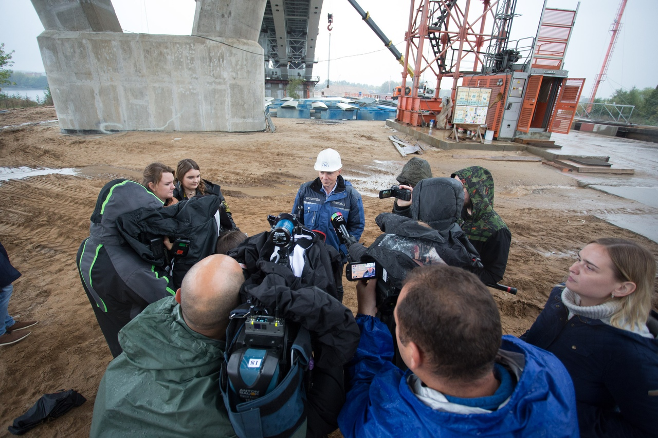 Рабочее движение на мосту через Волгу в Дубне собираются запустить в ноябре