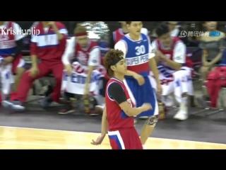 180915  Kris Wu YiFan @ Tencent Alll Star Basketball Game (BGM-18,Tian Di,Young OG)