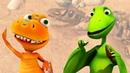 Развивающий мультик про Поезд Динозавров. Ископаемые останки. Видео для детей