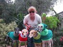 52-летняя Джен Браун из Сиборна, Великобритания…