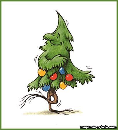 Смешная картинка елки