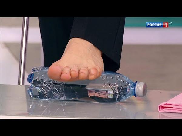 Упражнение для облегчения болей при пяточной шпоре