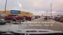 Yellowknife NT October 7 2015 Driving from Walmart to Downtown