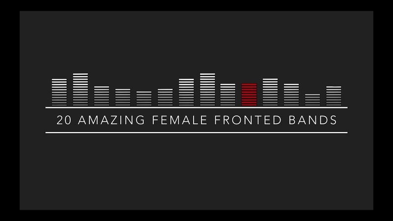 My Top 20 Female Fronted Pop/Punk/Rock/Metal/Alternative Bands (2016)