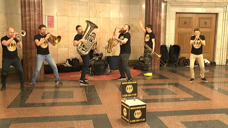 Brevis Brass Band - Californication cover