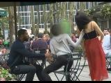 Девушка пердит на людей / Extreme Farting On People Prank!!