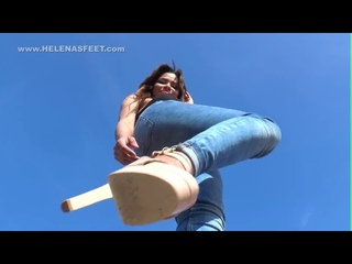 Giantess Feet pov