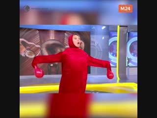 Номер с танцующей маткой на Первом канале