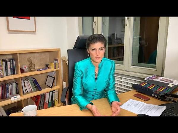 Sahra Wagenknecht im Livechat - Fragen zu Aufstehen u.a. 28.11.2018