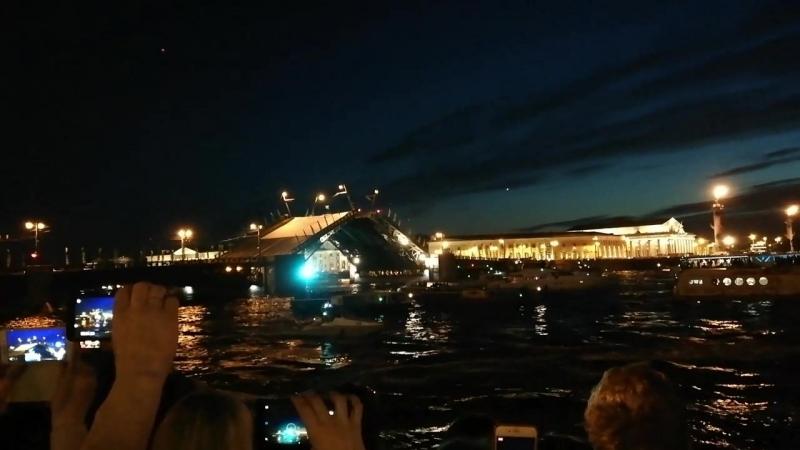 Разведение мостов СПб