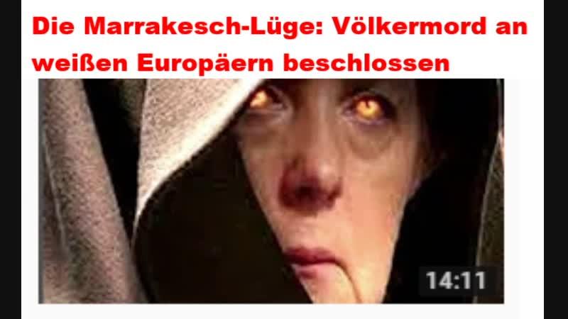 Die Marrakesch-Lüge Völkermord an weißen Europäern beschlossen