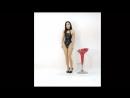 可愛すぎる美少女 ハイレグ レオタード Asian Beauty huge breasts Tback leotard Monroe walk