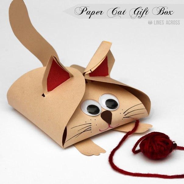 "Упаковочная коробка ""Котенок"""