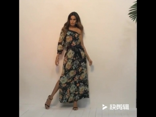 Bohemian Strapless Sleeve Print Dress Summer Floral Print Beach Dress Casual Women Dress