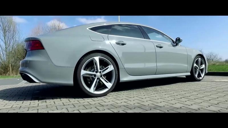 Audi RS7 560HP twin-turbo 4.0-liter V8