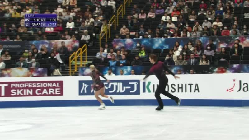Рекордный прокат Тарасовой и Морозова в короткой программе на ЧМ по Фигурному катанию