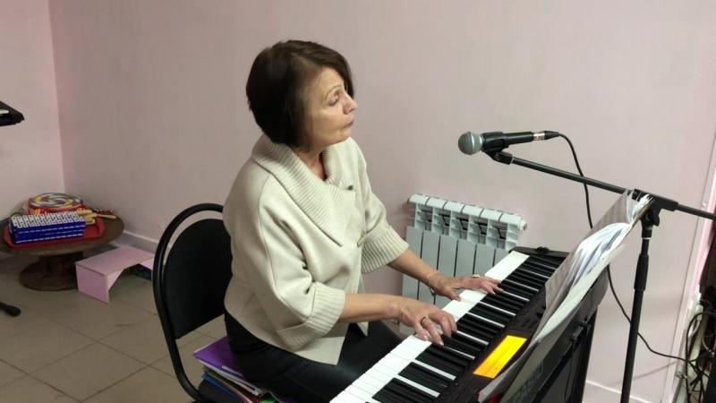 Стихи А.Ахматова, муз. И. Трифонова