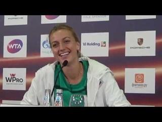 St. Petersburg Ladies Trophy 2019. Petra Kvitova