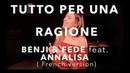 TUTTO PER UNA RAGIONE FRENCH VERSION BENJI FEDE feat ANNALISA SARA'H COVER