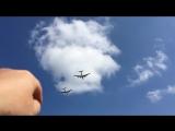 Авиационная часть парада на День ВМФ