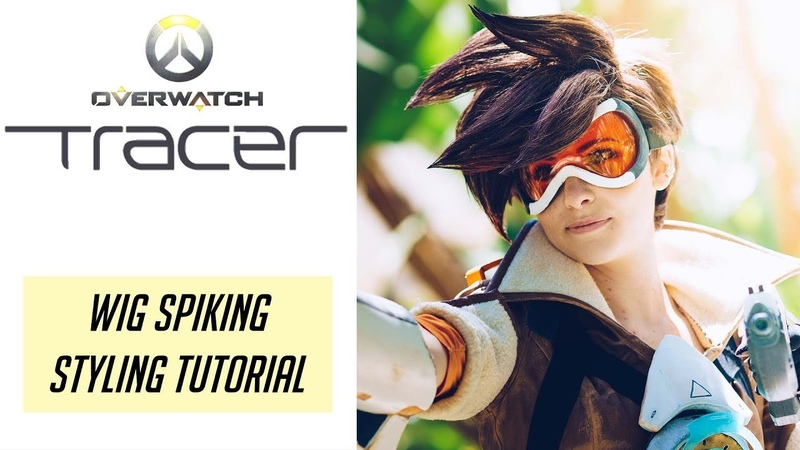 Tracer Cosplay Tutorial - Wig Spiking