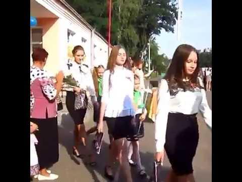 1 сентября. 11 А класс. Климовичская гимназия. 2018