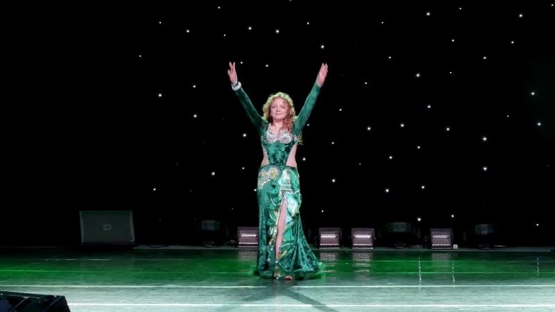 Александра Цыпленкова Отчётный концерт Школы восточного танца Elissa 2018
