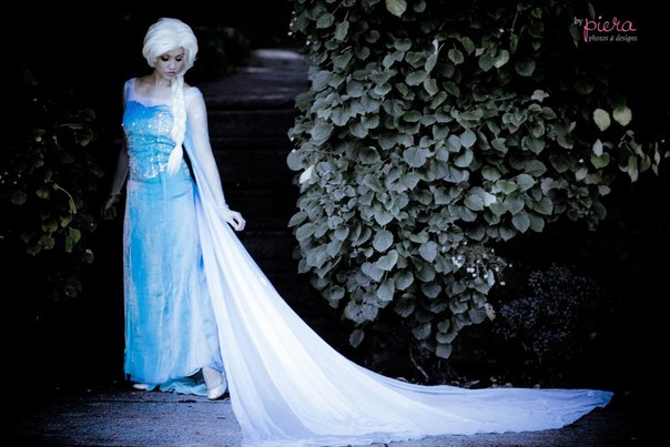 Макияж для Эльзы из Холодное Сердце
