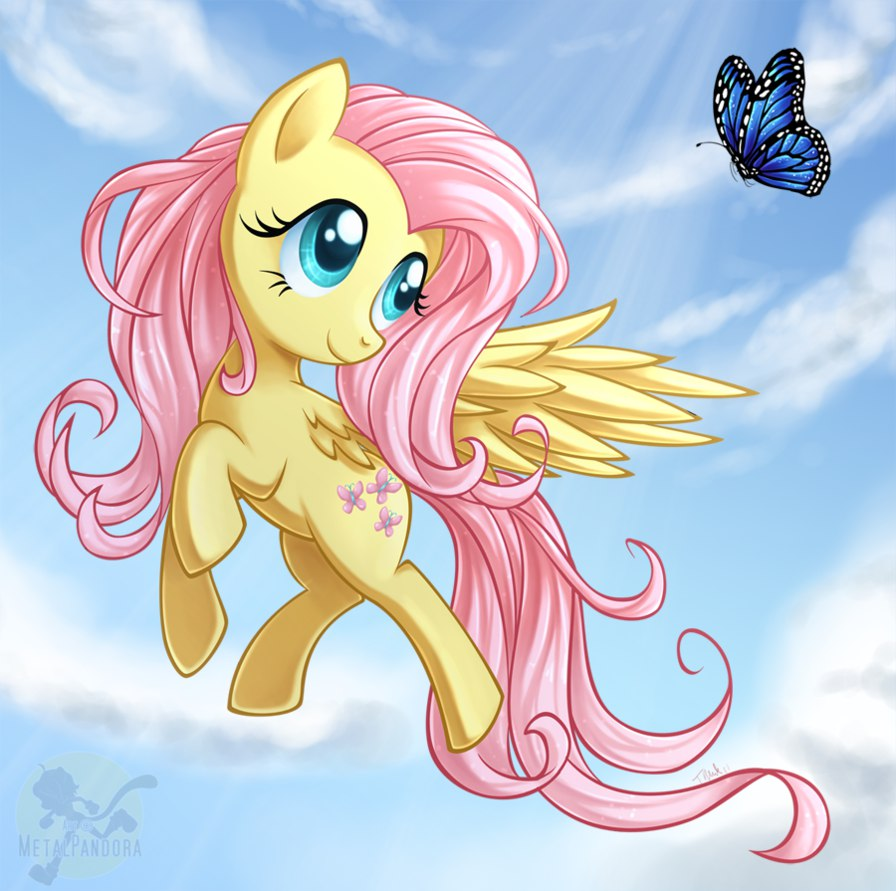 Флатершай Собирает Бабочки (Little Pony Fluttershy's Quest)