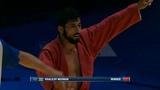 KHALILOV Mehman (AZE) vs SCHERBAKOV Artem (RUS). Sambo World Cup Kharlampiev Memorial 2018