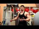 Качаем грудные, IFBB Pro Денис Гусев. Men's Physique