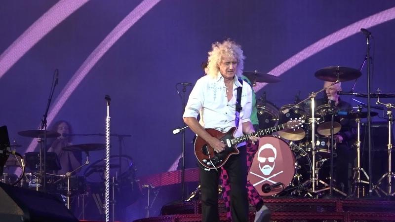 Queen Adam Lambert Dont Stop Me Now - TRNSMT Festival Glagow 06-07-18