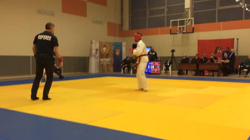 Чемпионат России 3 бой Тахир Токарев