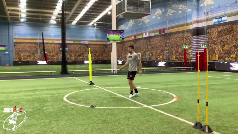 2 FULL Professional Training Sessions Brendan Hamill Joner 1on1 Football Training Обрезка 02