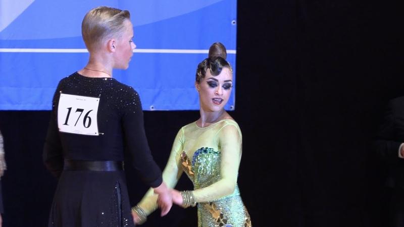 Коротченко Леонид - Сударикова Анна, Jive   Юниоры 21 Латиноамериканская программа
