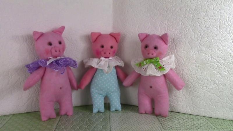 Шьем поросят We sew pigs ХоббиМаркет