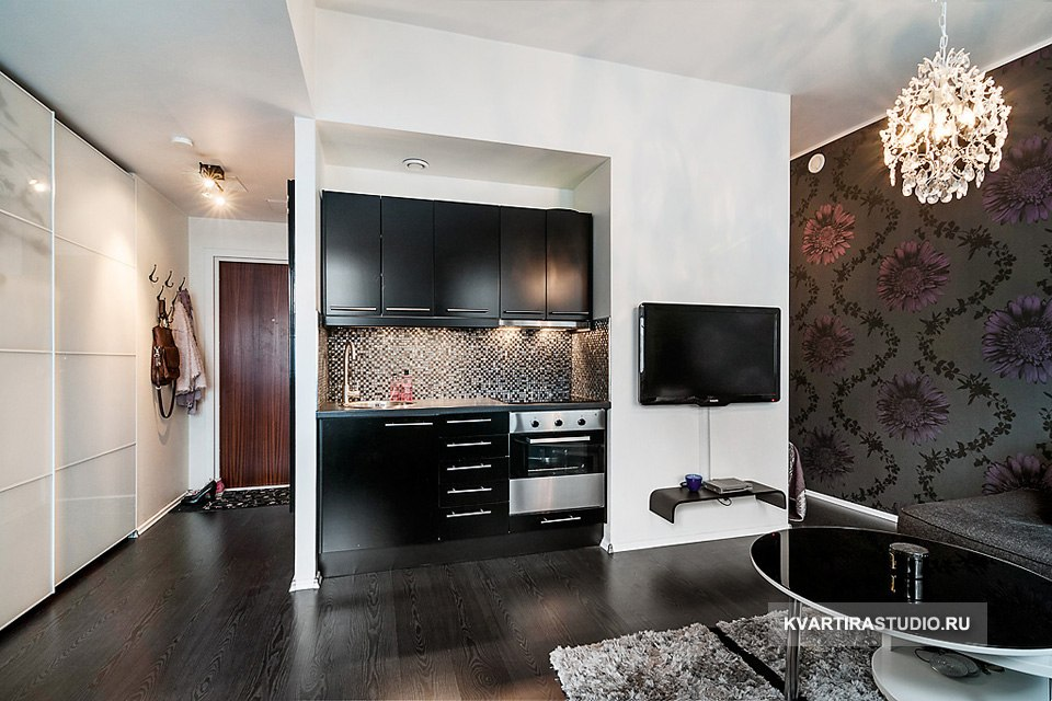 Студийная квартира 35 м со спальным альковом в Берлине / Германия - http://kvartirastudio.