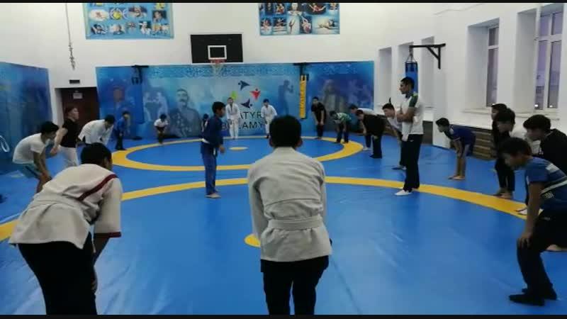Открыли второй бесплатный спортивный зал по борьбе для детей в г.Астана